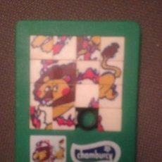 Puzzles: CIRCO JUEGO CHAMBURCY , PUZZLE LEON AÑOS 80. Lote 138537406