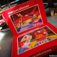 Puzzles: ROMPECABEZAS DE BORRAS. Lote 138661225