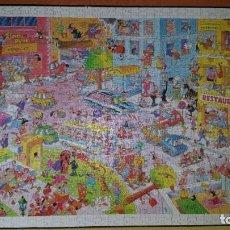 Puzzles: EXCLUSIVO CUADRO PUZZLE DE 1000 PIEZAS. AÑOS 80.. Lote 139815874