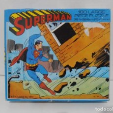 Puzzles: PUZZLE, SUPERMAN CASA, DC COMICS 1977, 180 PIEZAS, WHITMAN, MADE IN ENGLAND. Lote 140226410