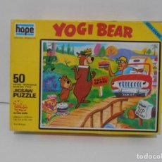Puzzles: PUZZLE, YOGI BEAR, JICSAW, 50 PIEZAS, HOPE, MADE IN ENGLAND. Lote 140228370