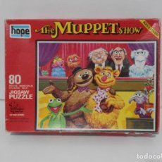 Puzzles: PUZZLE, THE MUPPET SHOW I, JICSAW, 50 PIEZAS, HOPE, MADE IN ENGLAND. Lote 140229206