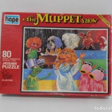 Puzzles: PUZZLE, THE MUPPET SHOW III, JICSAW, 50 PIEZAS, HOPE, MADE IN ENGLAND. Lote 140229358
