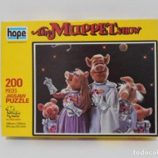 Puzzles: PUZZLE, THE MUPPET SHOW, JICSAW, 200 PIEZAS, HOPE, MADE IN ENGLAND. Lote 140229558
