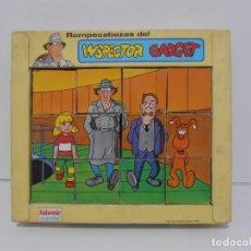 Puzzles: PUZZLE ROMPECABEZAS, EL INSPECTOR GADGET, FALOMIR JUEGOS, 1983 MADE IN SPAIN. Lote 140235234