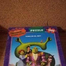 Puzzles: PUZZLE EDUCA 1000 PIEZAS, SHREK TERCERO. Lote 140462410