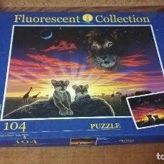 Puzzles: PUZZLE EDUCA 104 PIEZAS, FLUORESCENT COLLECTION. Lote 140462530