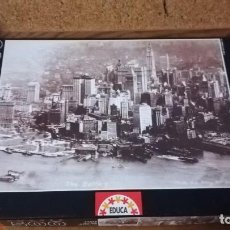 Puzzles: PUZZLE EDUCA 500 PIEZAS, NEW YORK SKYLINE 1920. Lote 140462666
