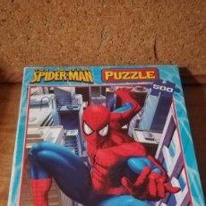Puzzles: PUZZLE EDUCA 500 PIEZAS, SPIDERMAN. Lote 140462902