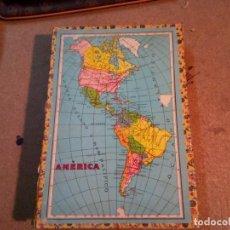 Puzzles: ANTIGUO PUZZLE ROMPECABEZAS .CUBOS DE CARTON AMERICA. Lote 141417638