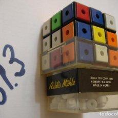 Puzzles: ANTIGUO CUBO DE RUBIK NUEVO SIN USAR RARO. Lote 141507582