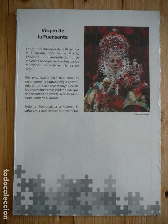 Puzzles: Puzzle Virgen de La Fuensanta. La Morenica. Patrona de Murcia. Periódico La Verdad. - Foto 2 - 141625250