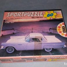 Puzzles: PUZZLE COCHE FORD THUNDERBIRD. Lote 141699318