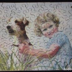 Puzzles: ANTIGUO PUZZLE DE PIEZAS DE MADERA. Lote 141820150