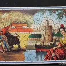 Puzzles: ANTIGUO PUZZLE DE PIEZAS DE MADERA. SEVILLA. Lote 141821102