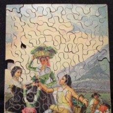 Puzzles: ANTIGUO PUZZLE DE PIEZAS DE MADERA. LA VENDIMIA. GOYA. Lote 141822314