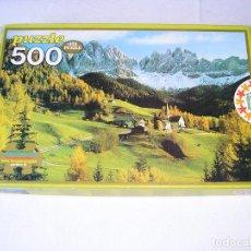 Puzzles: ANTIGUO PUZZLE EDUCA SANTA MAGDALENA TIROL 500 PIEZAS 48X35 PUZLE REF:7512 - PERFECTO ESTADO. Lote 45153093