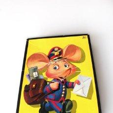 Puzzles: ANTIGUO ROMPECABEZAS PUZZLE DE TOPO GIGIO © MARIA PEREGO. ORIGINAL 1973 . EDIGRAF, BARCELONA.. Lote 142381710