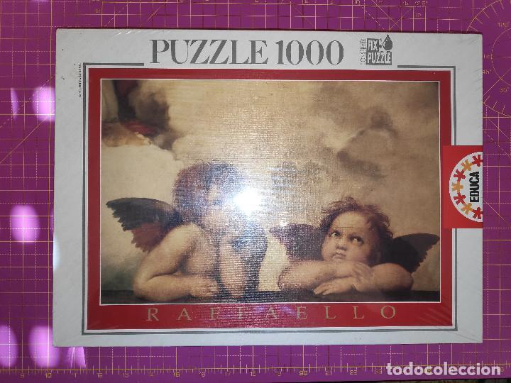 PUZZLE LA MADONNA SISTINA - RAFFAELLO - 1000 PIEZAS - EDUCA - NUEVO Y PRECINTADO - REFERENCIA 7352 (Juguetes - Juegos - Puzles)