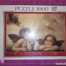 Puzzles: PUZZLE LA MADONNA SISTINA - RAFFAELLO - 1000 PIEZAS - EDUCA - NUEVO Y PRECINTADO - REFERENCIA 7352. Lote 142519374