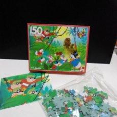Puzzles: PUZZLE PATO AVENTURAS DONALD - NATHAN AÑOS 80 - PUZZLE 150 PIEZAS CON POSTER - DESCATALOGADO - NUEVO. Lote 142584510