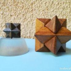 Puzzles: MERITORIO PUZZLE (POLIEDRO ESTRELLADO) DE AJUSTE MANUAL. Lote 142863366