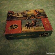 Puzzles: ANTIGUO ROMPECABEZAS DE CUBOS,VERMIHE. IMAGENES DE OESTE.. Lote 143605998