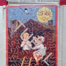 Puzzles: TUBAL ANTIGUO `PUZZLE CEBRA MADERA 15 CM 350 GRS. Lote 143611794