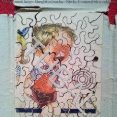 Puzzles: TUBAL ANTIGUO `PUZZLE CEBRA MADERA 15 CM 350 GRS. Lote 143611994