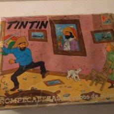 Puzzles: ROMPECABEZAS TINTÍN CUBOS PLÁSTICO. Lote 143941561