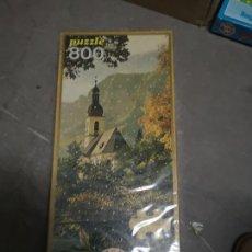 Puzzles: PUZZLE DE 800 PIEZAS AÑOS 80 DE EDUCA, NUEVO PRECINTADO. Lote 144056032