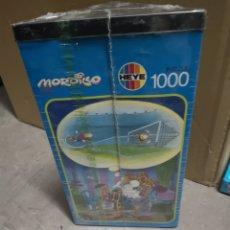 Puzzles: MORDILLO 1000 PIEZAS-HEYE, NUEVO PRECINTADO. Lote 144056810
