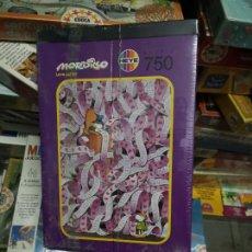 Puzzles: MORDILLO 750 PIEZAS-HEYE, NUEVO PRECINTADO. Lote 144057240