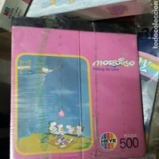 Puzzles: MORDILLO 500 PIEZAS-HEYE, NUEVO PRECINTADO. Lote 144057478