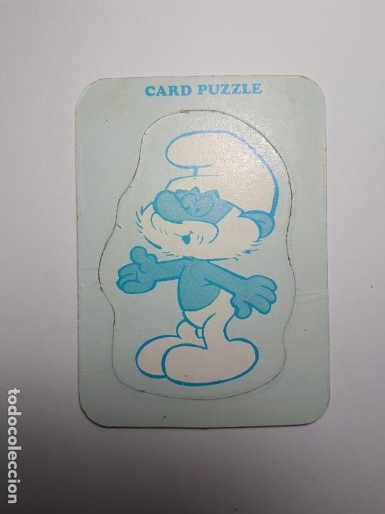 Puzzles: Peyo Card Puzzle - Pitufos - Años 70 (Raro) - Foto 8 - 144519110