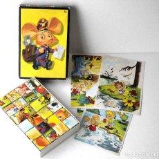 Puzzles: TOPO GIGIO PUZZLE DE 24 CUBOS. Lote 145454206