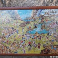 Puzzles: ANTIGUO PUZZLE ENMARCADO DE LOS AÑOS 70#1.000 PIEZAS#. Lote 146198777