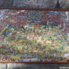 Puzzles: PUZZLE ENMARCADO DE COLECCIÓN #2.500 PIEZAS#FÚTBOL*AÑOS 80.. Lote 146203441