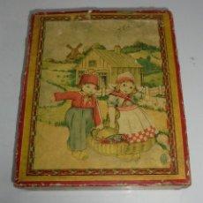 Puzzles: ANTIGUO ROMPECABEZAS. CUBOS DE CARTON. CADA CARA UNA IMAGEN. LITOGRAFIAS. VER. Lote 146492546