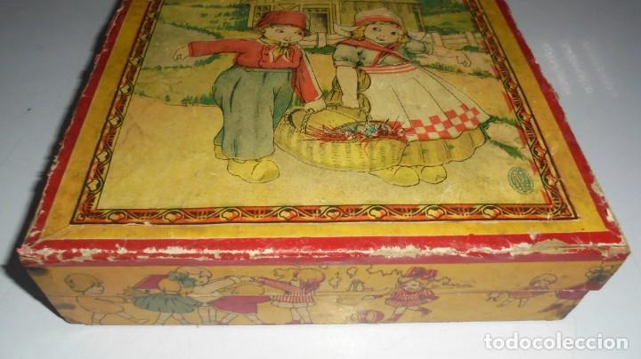Puzzles: ANTIGUO ROMPECABEZAS. CUBOS DE CARTON. CADA CARA UNA IMAGEN. LITOGRAFIAS. VER - Foto 2 - 146492546