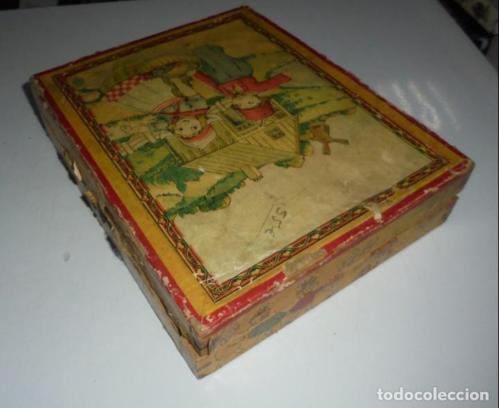 Puzzles: ANTIGUO ROMPECABEZAS. CUBOS DE CARTON. CADA CARA UNA IMAGEN. LITOGRAFIAS. VER - Foto 16 - 146492546