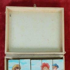 Puzzles: JUEGO DE PUZZLE DE 6 PAISAJES INFANTILES. CARTONÉ IMPRESO. SIGLO XIX-XX. Lote 146826474