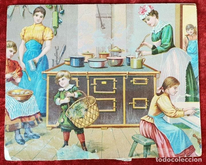 Puzzles: JUEGO DE PUZZLE DE 6 PAISAJES INFANTILES. CARTONÉ IMPRESO. SIGLO XIX-XX - Foto 3 - 146826474