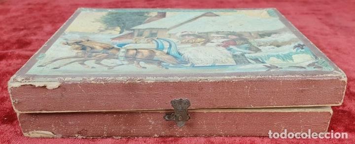 Puzzles: JUEGO DE PUZZLE DE 6 PAISAJES INFANTILES. CARTONÉ IMPRESO. SIGLO XIX-XX - Foto 8 - 146826474