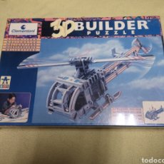 Puzzles: 3D BUILDER PUZZLE HELICOPTERO DE CLEMENTONI NUEVO. Lote 146950702