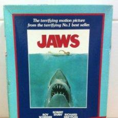 Puzzles: PUZZLE DE 500 PIEZAS - PÓSTER DE LA PELÍCULA DE CULTO JAWS - TIBURÓN (1975), DE MB. NUEVO A ESTRENAR. Lote 147471274