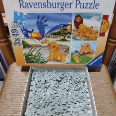 Puzzles: PUZZLE - THE LION KING - EL REY LEON - DISNEY.. Lote 147499314