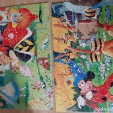 Puzzles: DOS PUZZLES DISNEY AÑOS 60 DE 150 PIEZAS. Lote 148174190