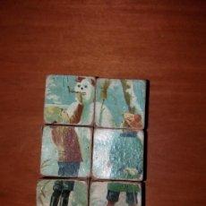 Puzzles: PUZZLE ANTIGUO DE CUBOS. Lote 146676710
