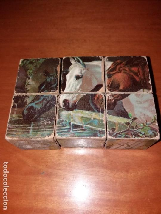 Puzzles: Puzzle antiguo de cubos - Foto 2 - 146676710